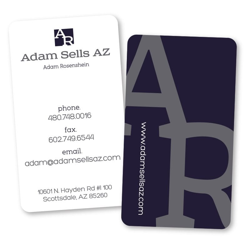 Business card design brand identity and website design company in adam sells az businesscard colourmoves