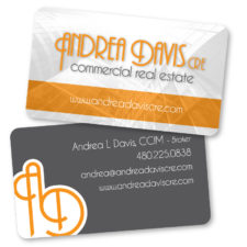 Andrea Davis Commercial Real Estate - BusinessCard