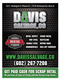 Davis Salvage - Advertising