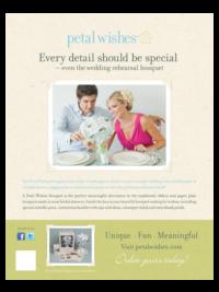 Petal Wishes - Advertising