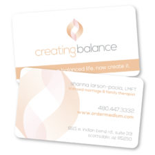 Creating Balance - BusinessCard