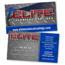 Elite Technical Coatings - BusinessCard