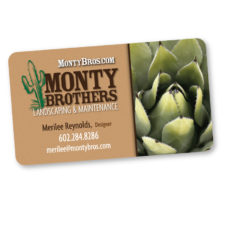 Monty Brothers Landscaping - BusinessCard