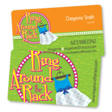 Ring Around The Rack - BusinessCard