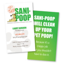 Sani Poop - BusinessCard
